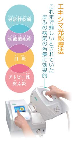 エキシマ光線療法-セラビーム-